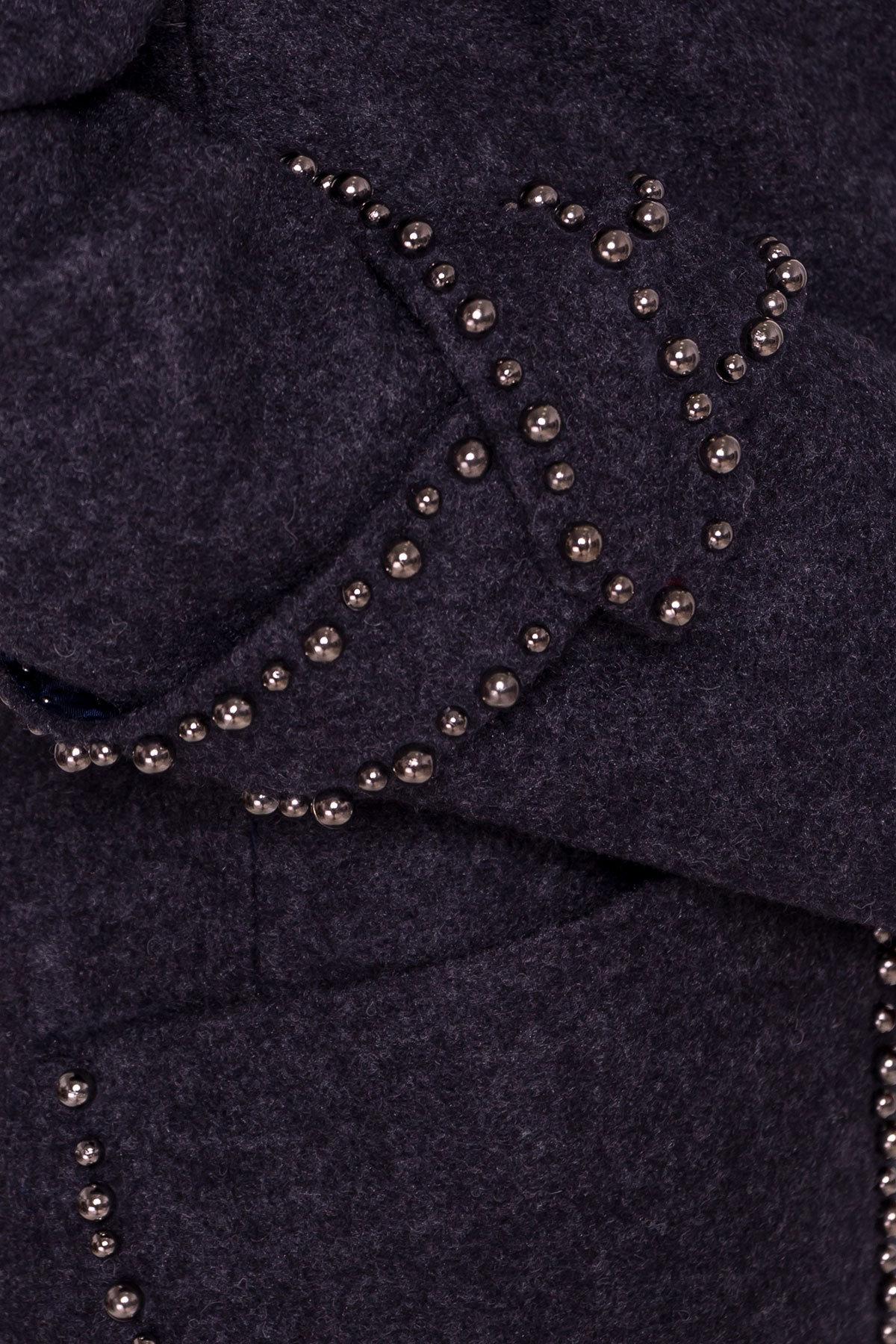 Пальто Алина 5248 Цвет: Темно-синий