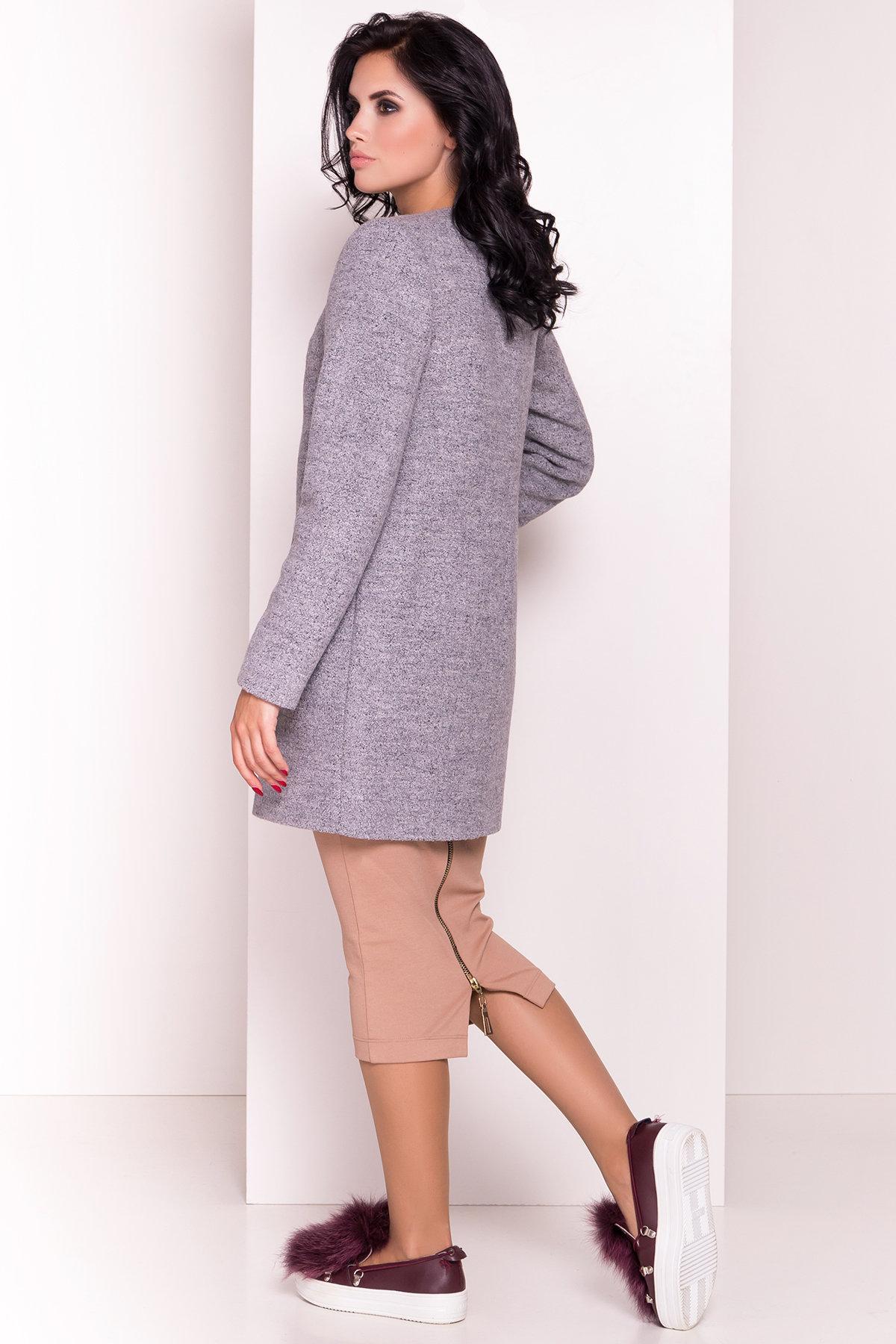 Пальто Дакс 1679 АРТ. 9498 Цвет: Серый 48 - фото 3, интернет магазин tm-modus.ru