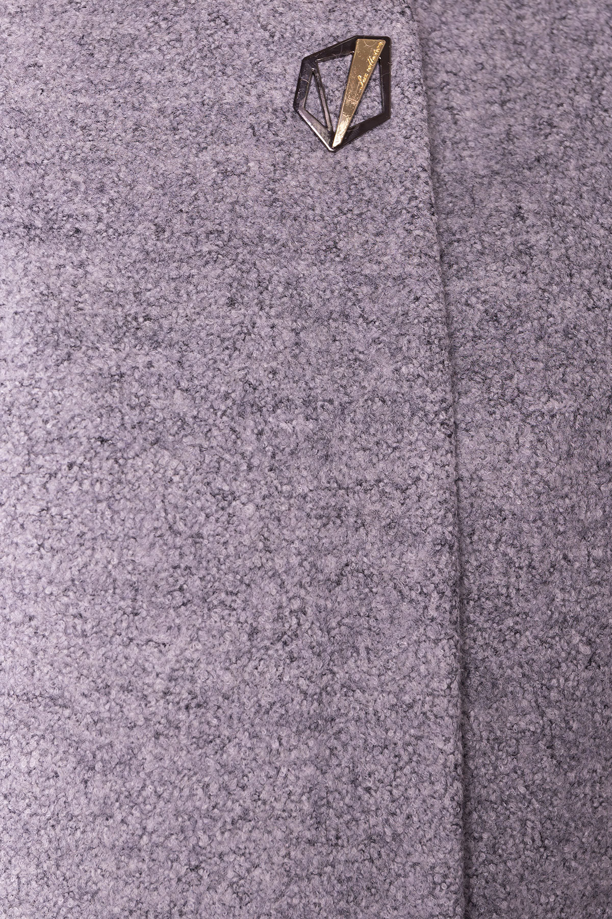 Пальто Дакс 1679 АРТ. 9498 Цвет: Серый 48 - фото 4, интернет магазин tm-modus.ru