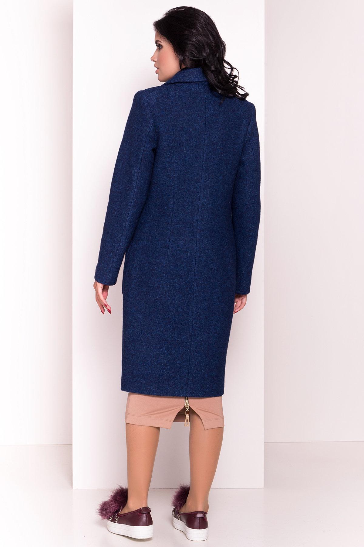Пальто Габриэлла 4546 Цвет: Темно-синий/электрик-LW27