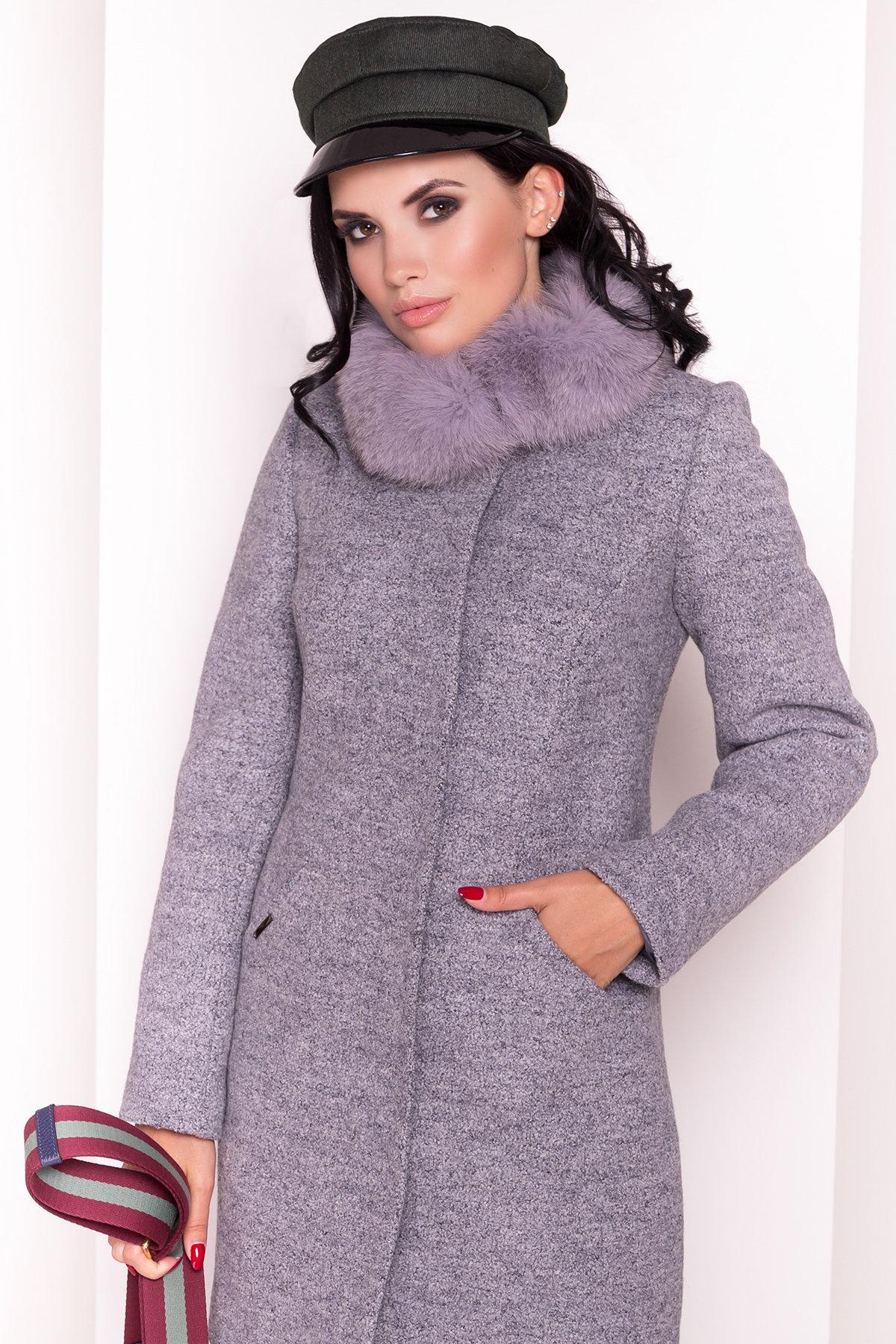Пальто зима Сплит 3359 Цвет: Серый 48