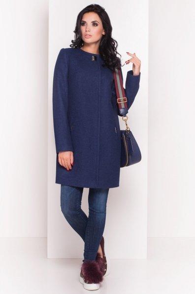 Демисезонное пальто Ферран 5369 Цвет: Темно-синий 17