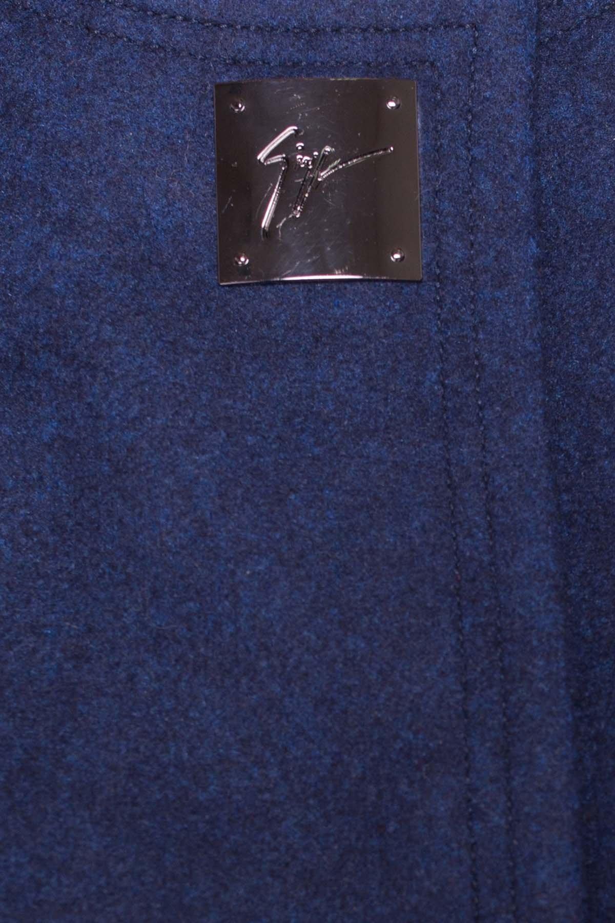 Демисезонное пальто Ферран 5369 АРТ. 36546 Цвет: Темно-синий 17 - фото 4, интернет магазин tm-modus.ru