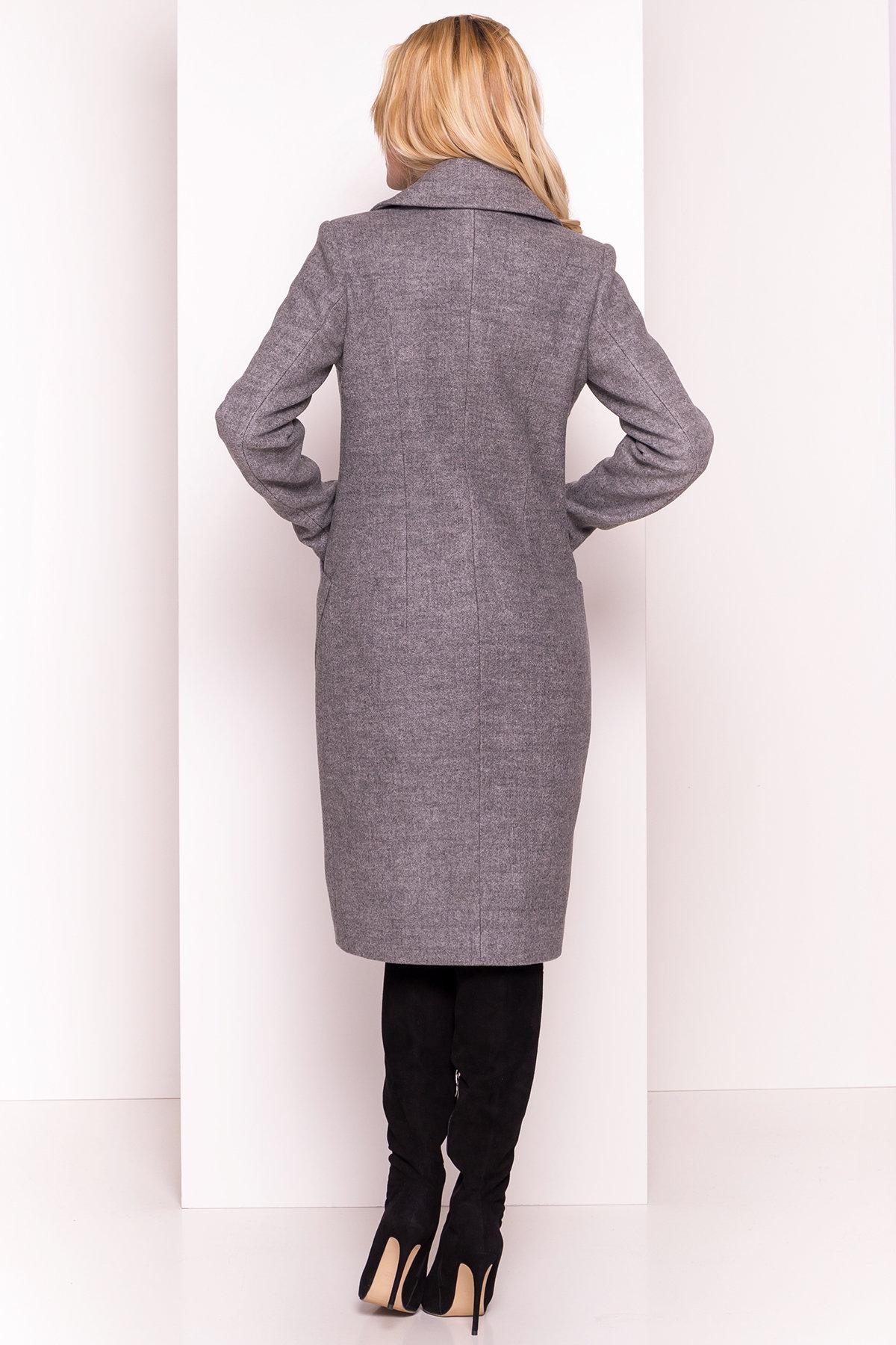 Пальто Габриэлла 4459 АРТ. 21654 Цвет: Серый 18 - фото 4, интернет магазин tm-modus.ru