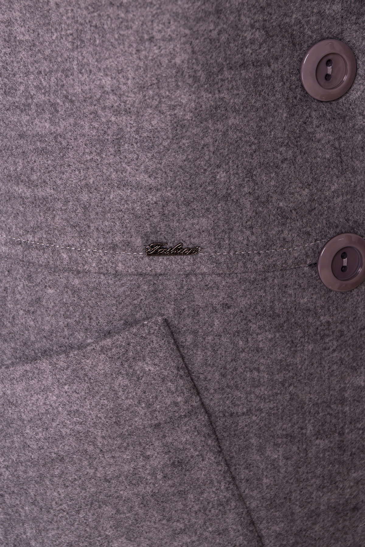 Пальто Габриэлла 4459 АРТ. 21654 Цвет: Серый 18 - фото 5, интернет магазин tm-modus.ru