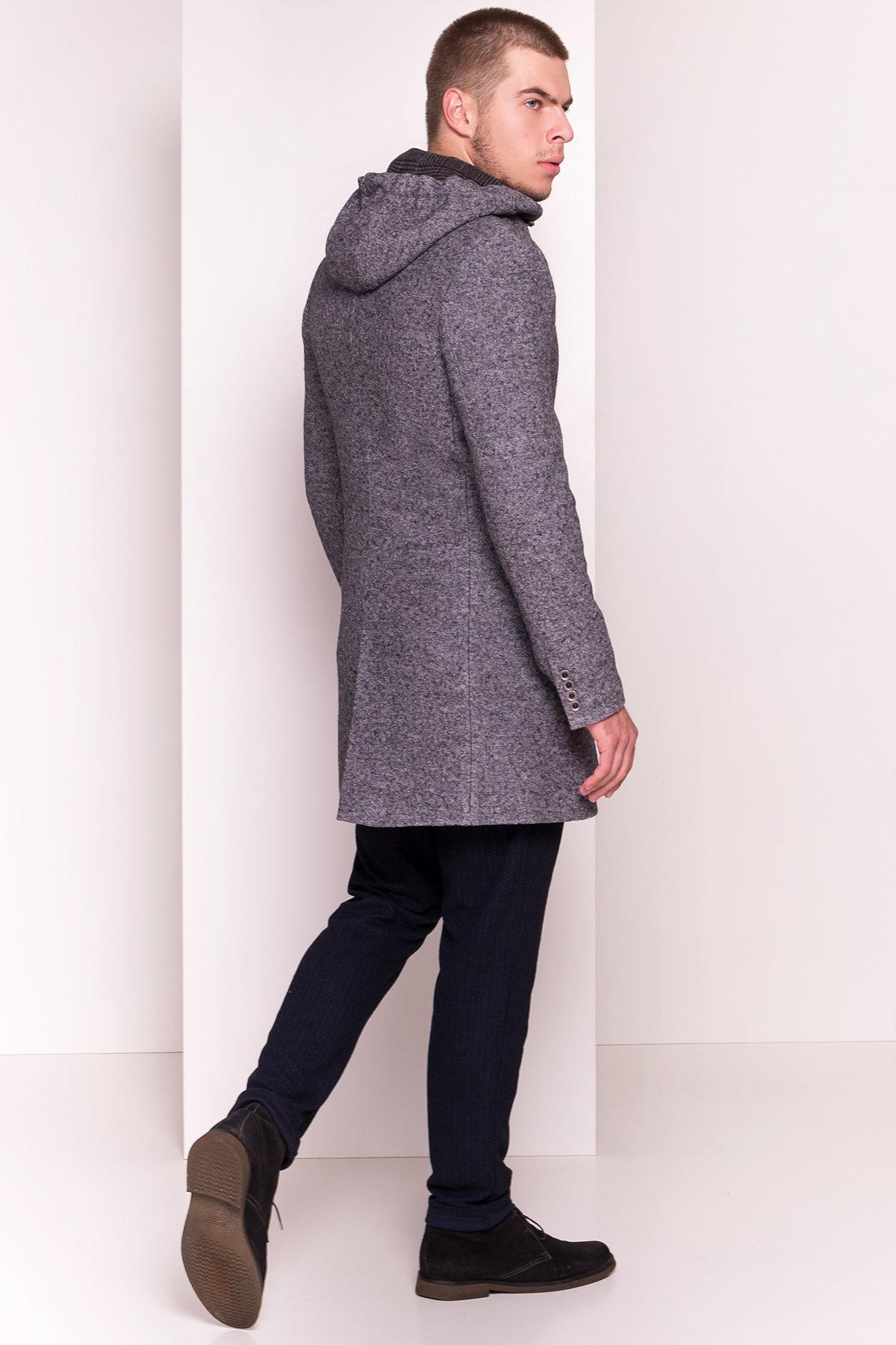 Пальто мужское Киану 5233 Цвет: Серый Темный LW-5