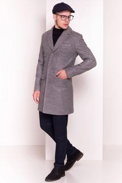 Пальто мужское Пако 5235 Цвет: Серый