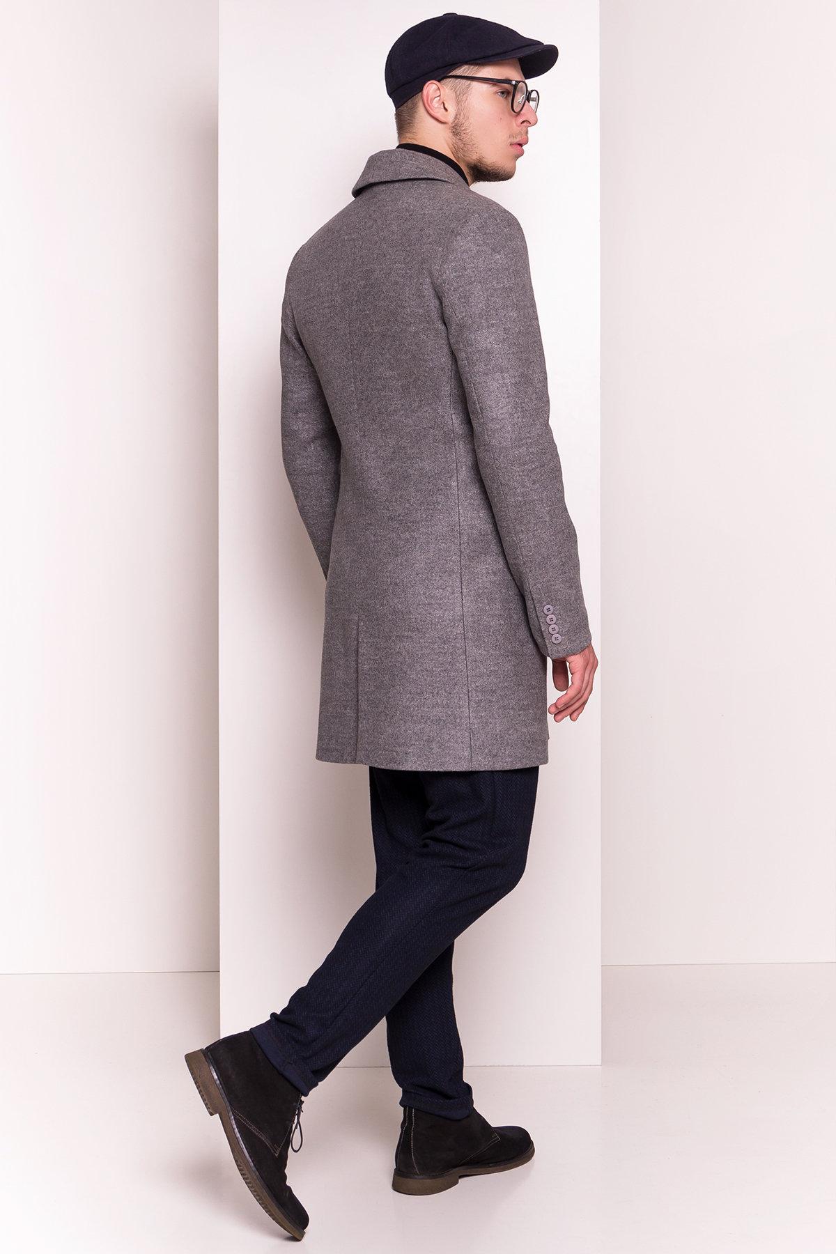 Пальто мужское Пако 5235 АРТ. 36435 Цвет: Серый - фото 5, интернет магазин tm-modus.ru