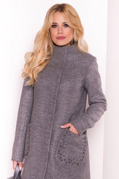 Пальто Даймон 5377 Цвет: Серый 18
