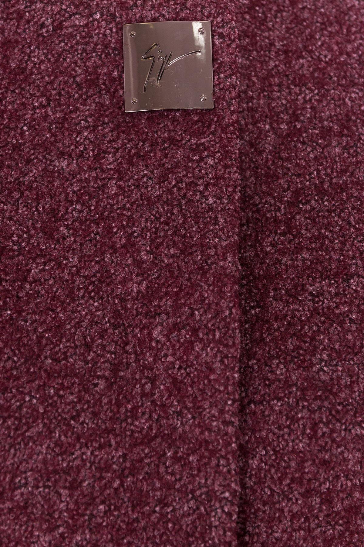 Пальто на весну Дакс 1679 АРТ. 16668 Цвет: Марсала - фото 5, интернет магазин tm-modus.ru