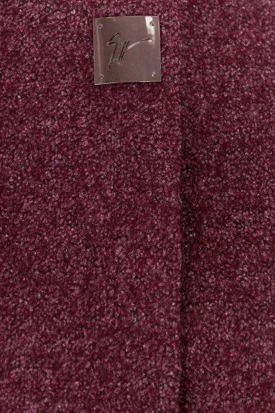 Пальто на весну Дакс 1679 Цвет: Марсала
