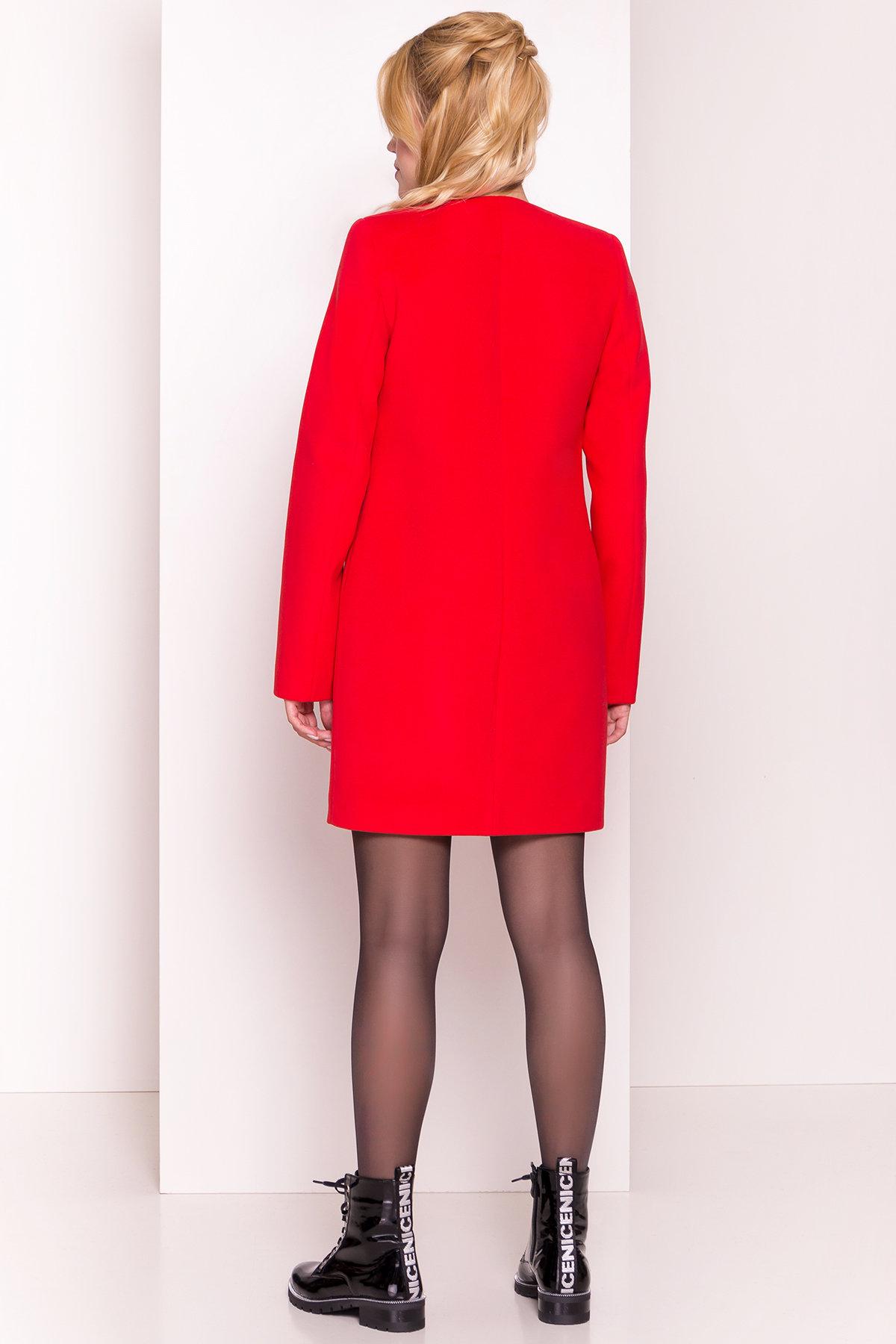 Пальто Фортуна 4812 АРТ. 5342 Цвет: Красный 6 - фото 4, интернет магазин tm-modus.ru