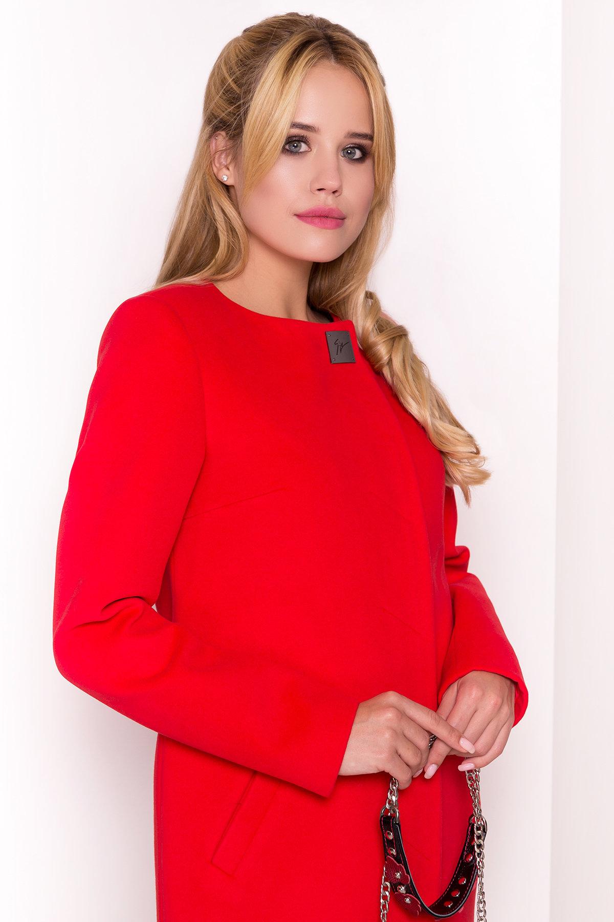 Пальто Фортуна 4812 АРТ. 5342 Цвет: Красный 6 - фото 3, интернет магазин tm-modus.ru