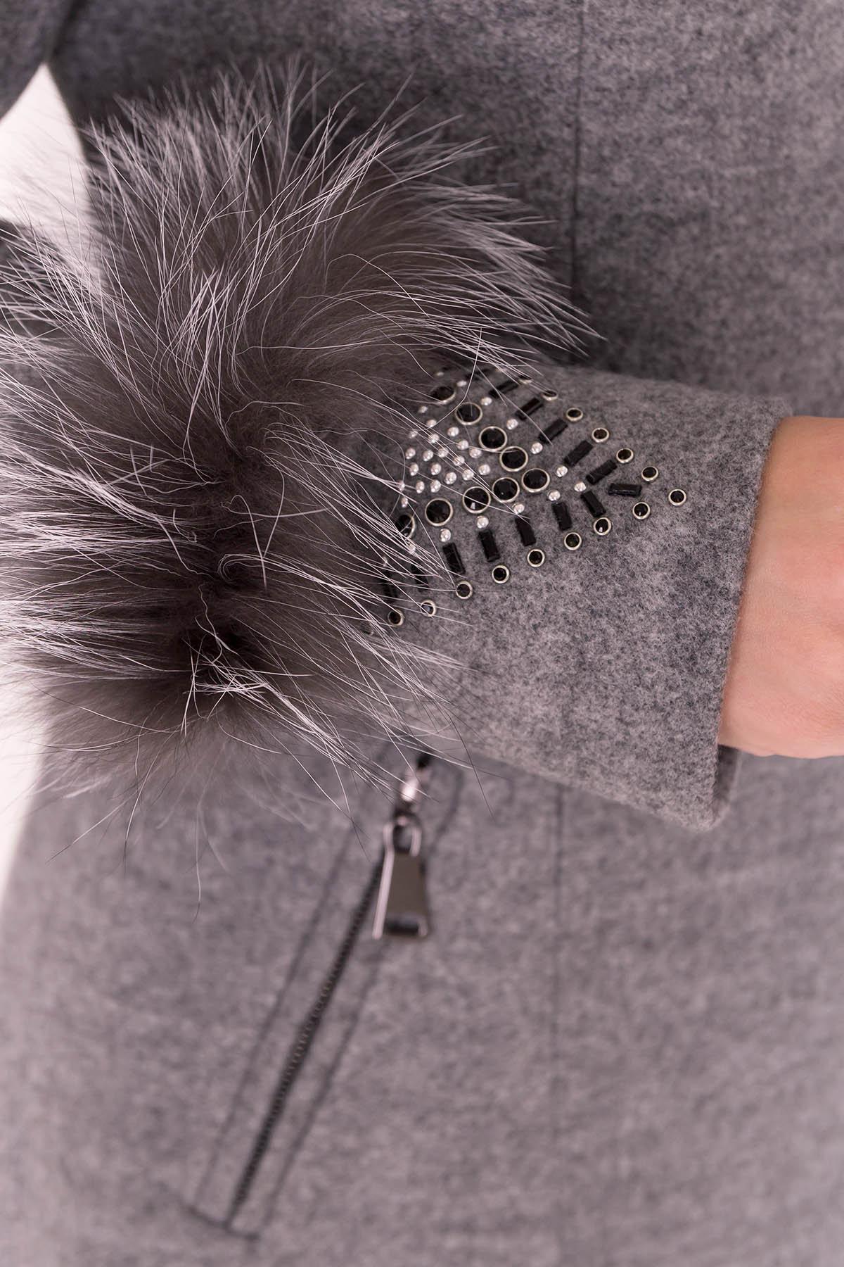 Пальто Лорин 4478 Цвет: Серый 18