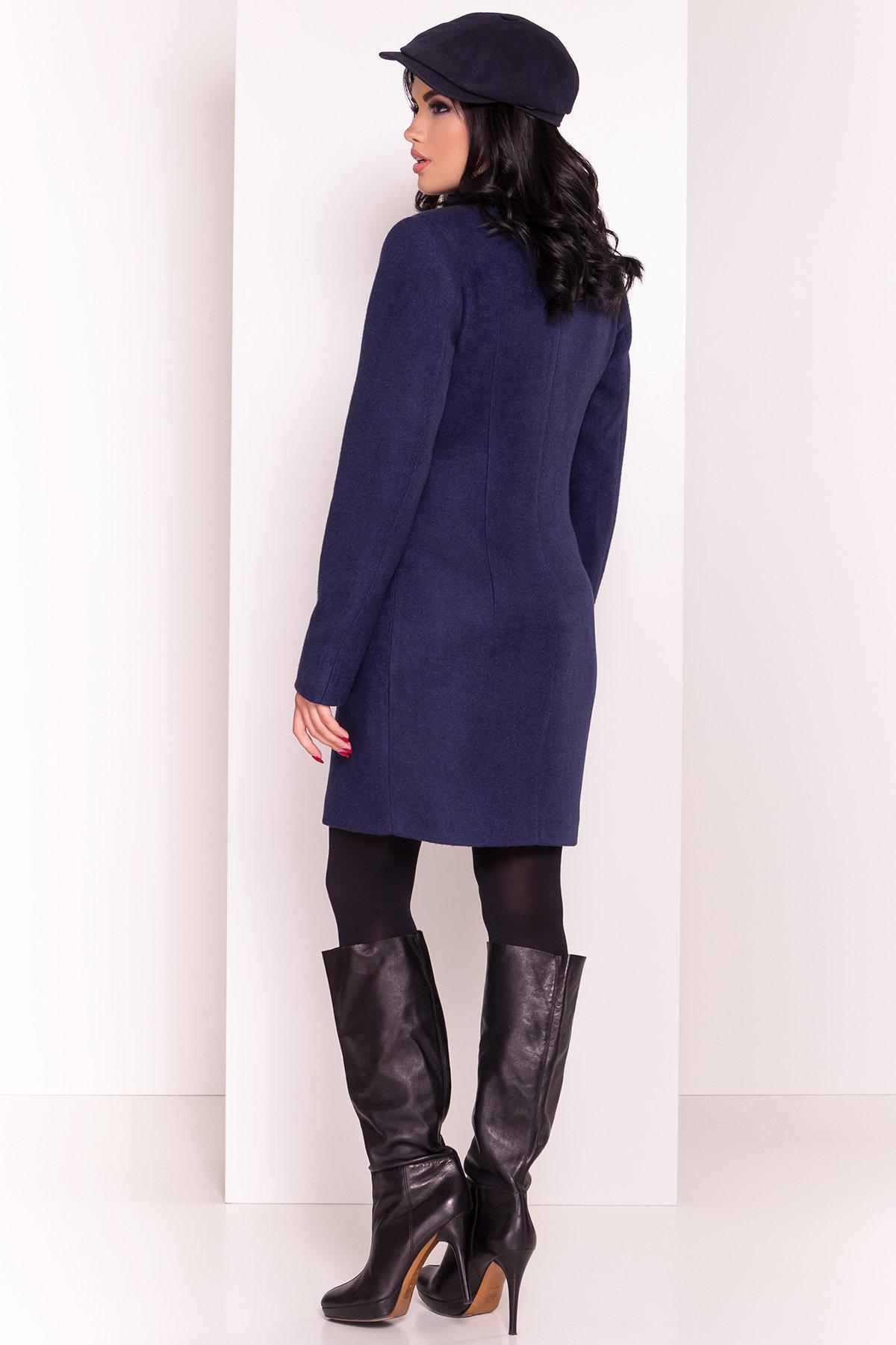 Пальто Камила 5373 АРТ. 36549 Цвет: Темно-синий 17 - фото 6, интернет магазин tm-modus.ru