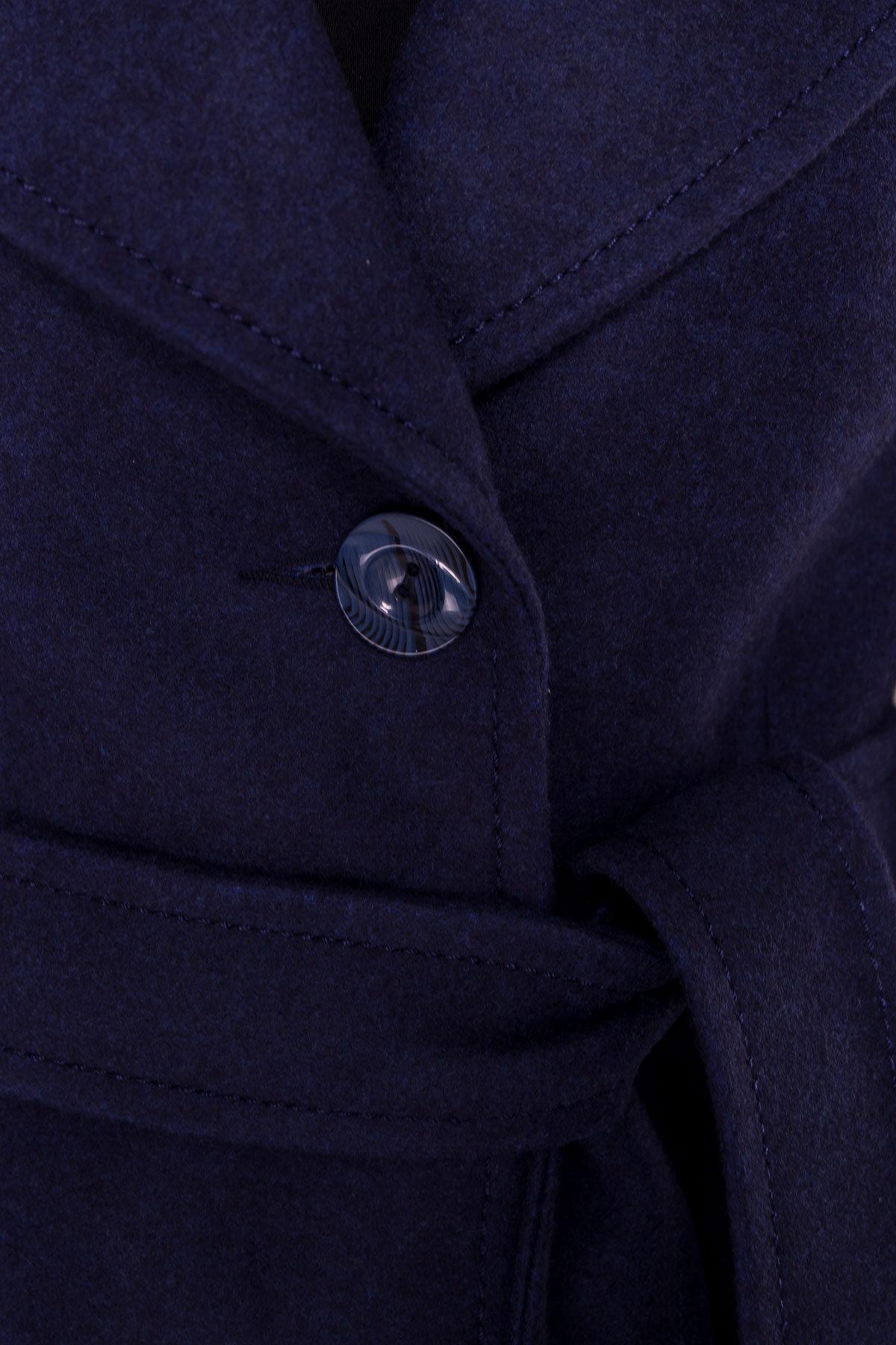 Пальто Камила 5373 АРТ. 36549 Цвет: Темно-синий 17 - фото 7, интернет магазин tm-modus.ru