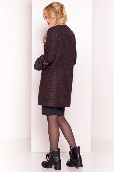 Пальто Амелия 4396 Цвет: Шоколад