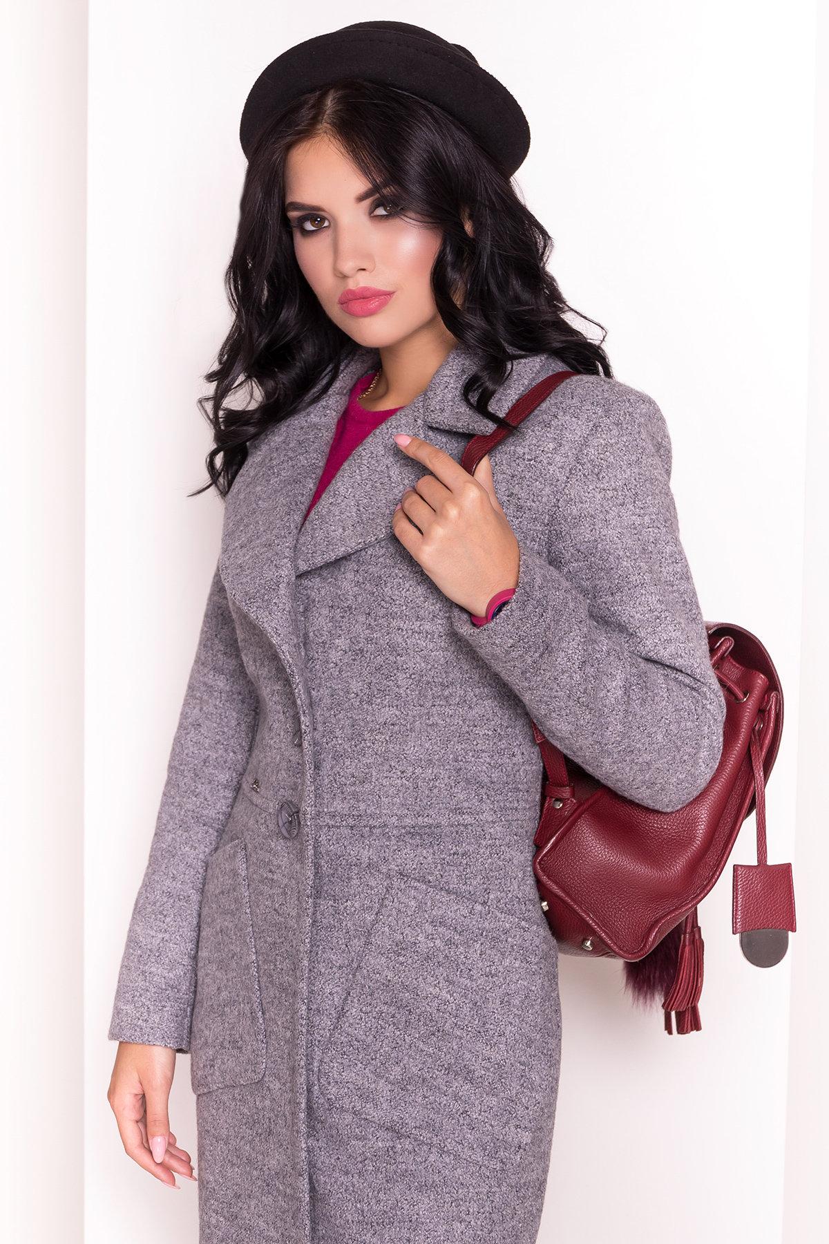 Пальто Габриэлла 3293 АРТ. 16800 Цвет: Серый 48 - фото 3, интернет магазин tm-modus.ru