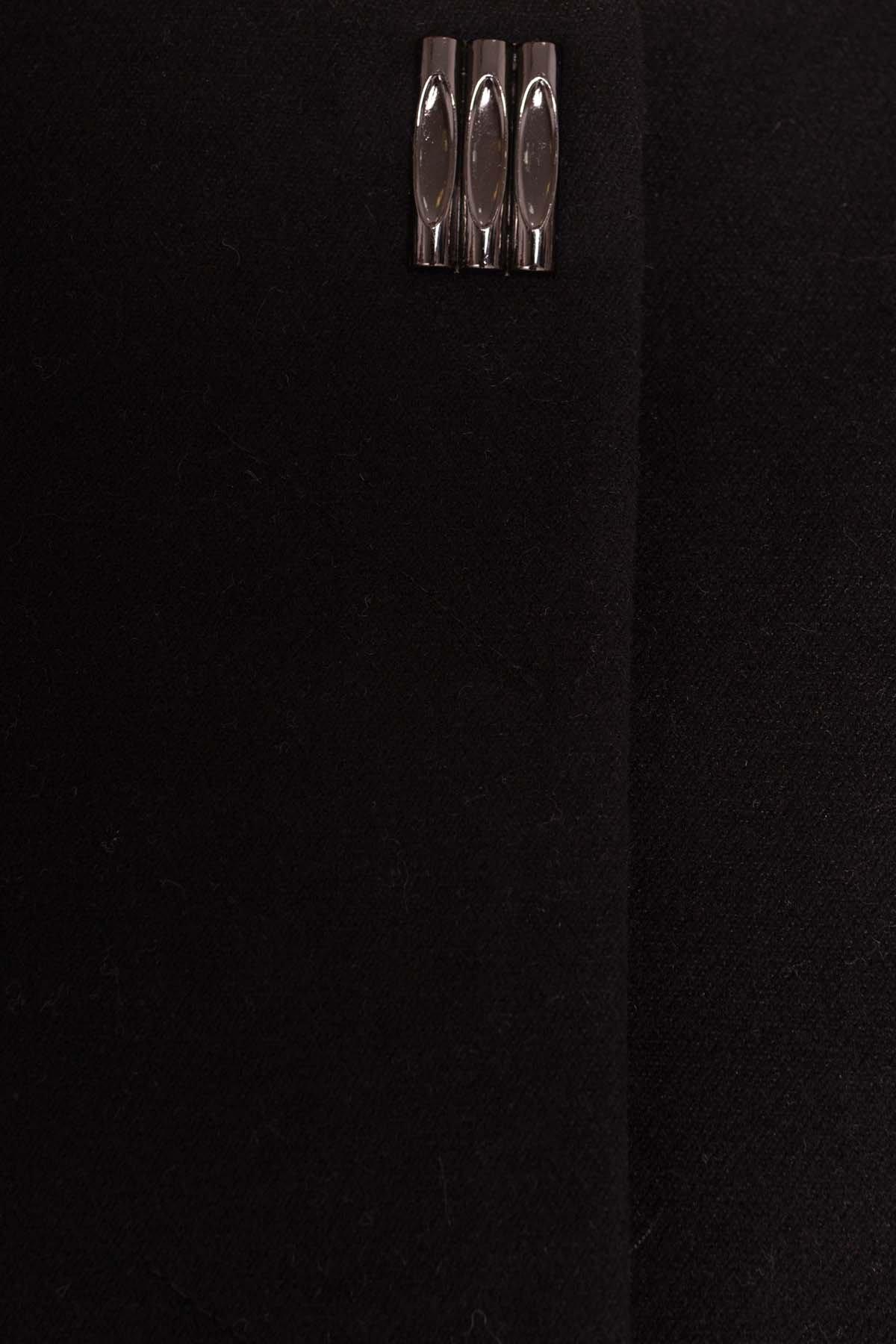 Пальто Фортуна 4812 АРТ. 6763 Цвет: Черный - фото 4, интернет магазин tm-modus.ru