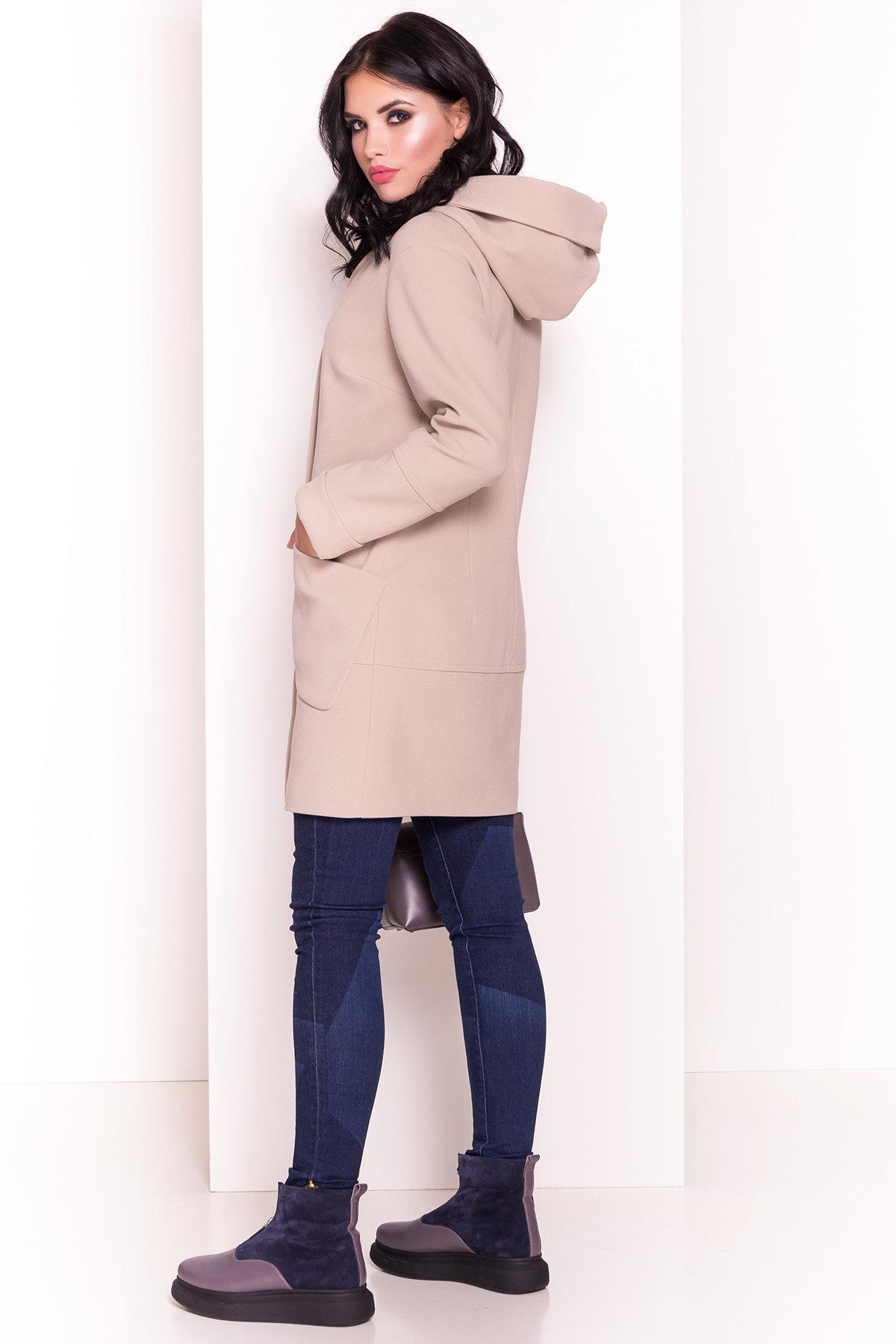 Пальто Анита 4414 Цвет: Бежевый Светлый 221361
