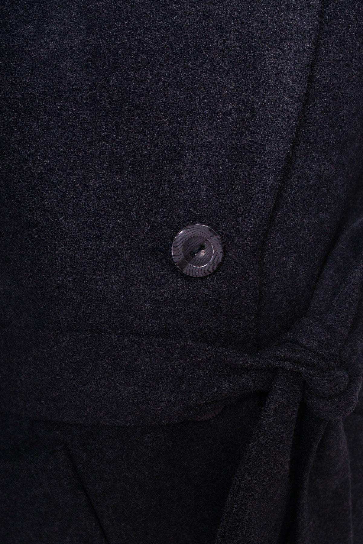 Пальто Габриэлла 4417 АРТ. 21337 Цвет: Темно-синий - фото 6, интернет магазин tm-modus.ru