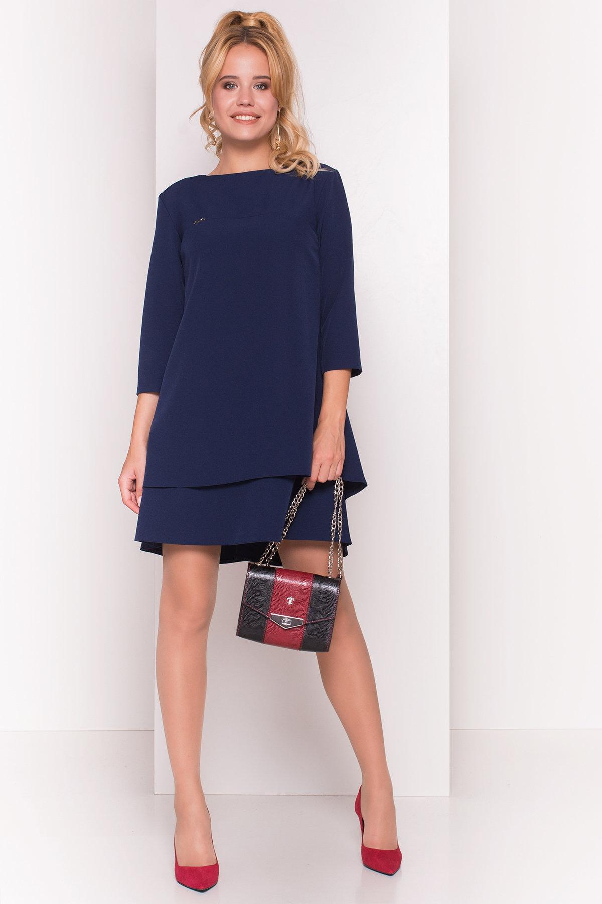 Купить оптом трикотажные платья в Украине Платье Делафер 3245