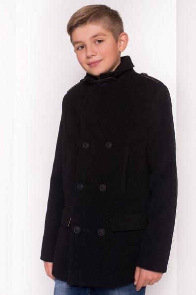 Пальто детское Никас 5309 Цвет: Черный