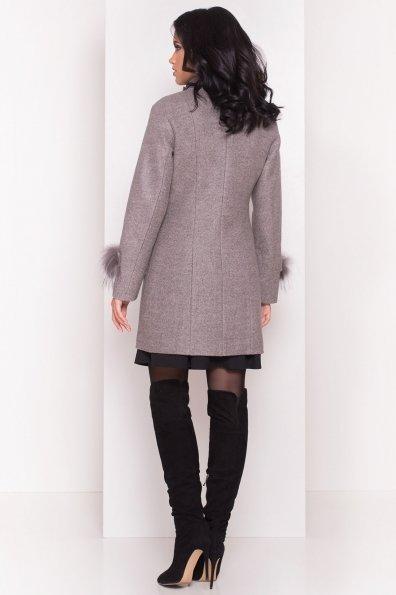 Пальто Лорин 4478 Цвет: Серый/розовый