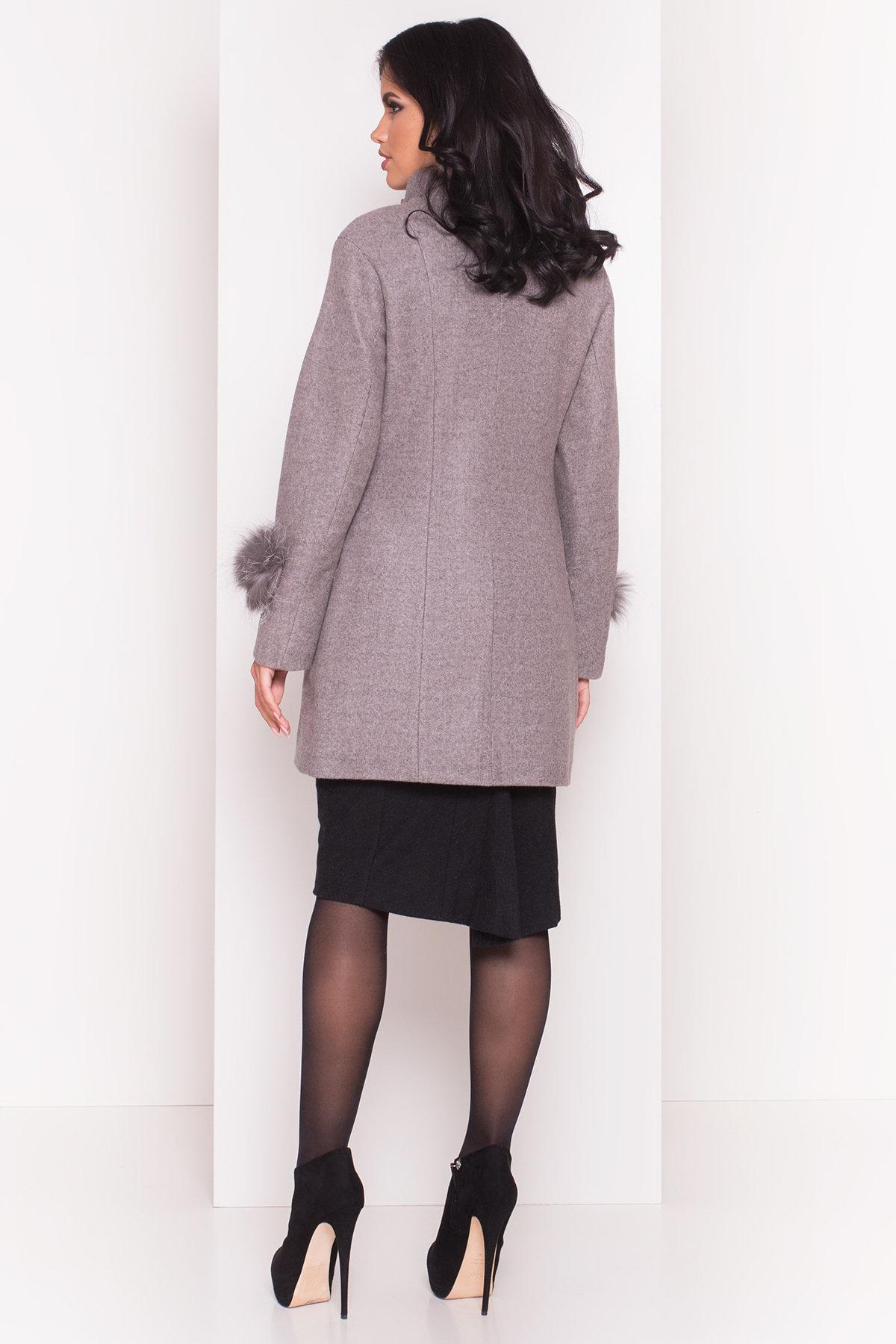 Пальто Лорин 4478 АРТ. 33846 Цвет: Карамель - фото 3, интернет магазин tm-modus.ru