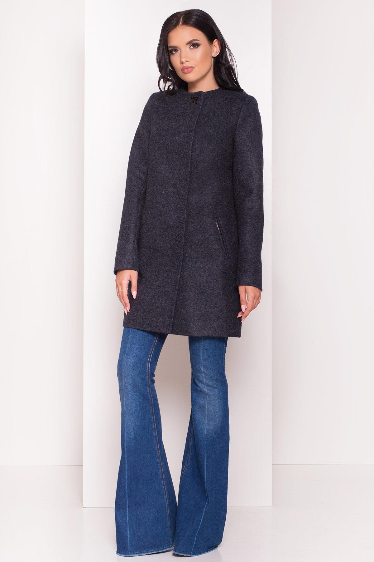 Демисезонное пальто Ферран 5369 АРТ. 36594 Цвет: Темно-синий - фото 3, интернет магазин tm-modus.ru