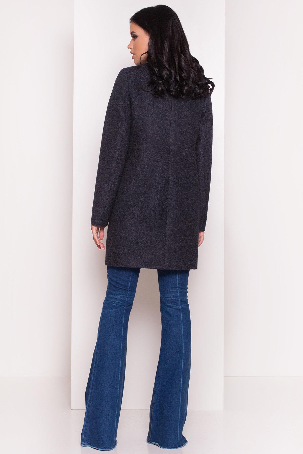 Демисезонное пальто Ферран 5369 АРТ. 36594 Цвет: Темно-синий - фото 4, интернет магазин tm-modus.ru