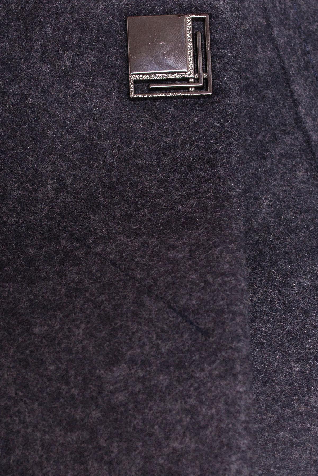 Пальто Шаника 5379 АРТ. 36615 Цвет: Темно-синий - фото 5, интернет магазин tm-modus.ru