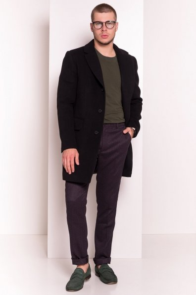 Пальто мужское Пако 5467 Цвет: Черный