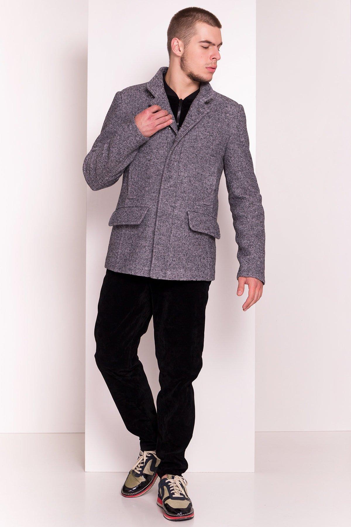 Пальто мужское Купер 5234 Цвет: Серый Темный LW-5