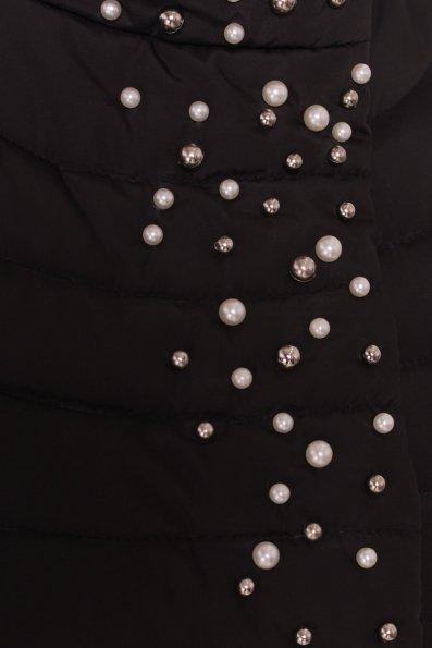 Стильное стеганое пальто Блисс 4520 Цвет: Черный