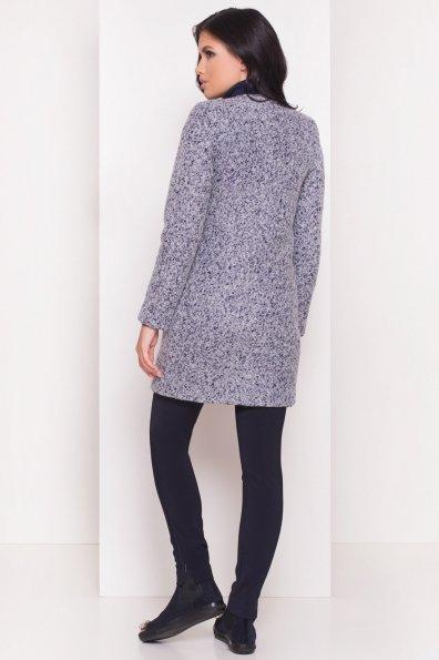 Пальто Фортуна 0904 Цвет: Серый/голубой