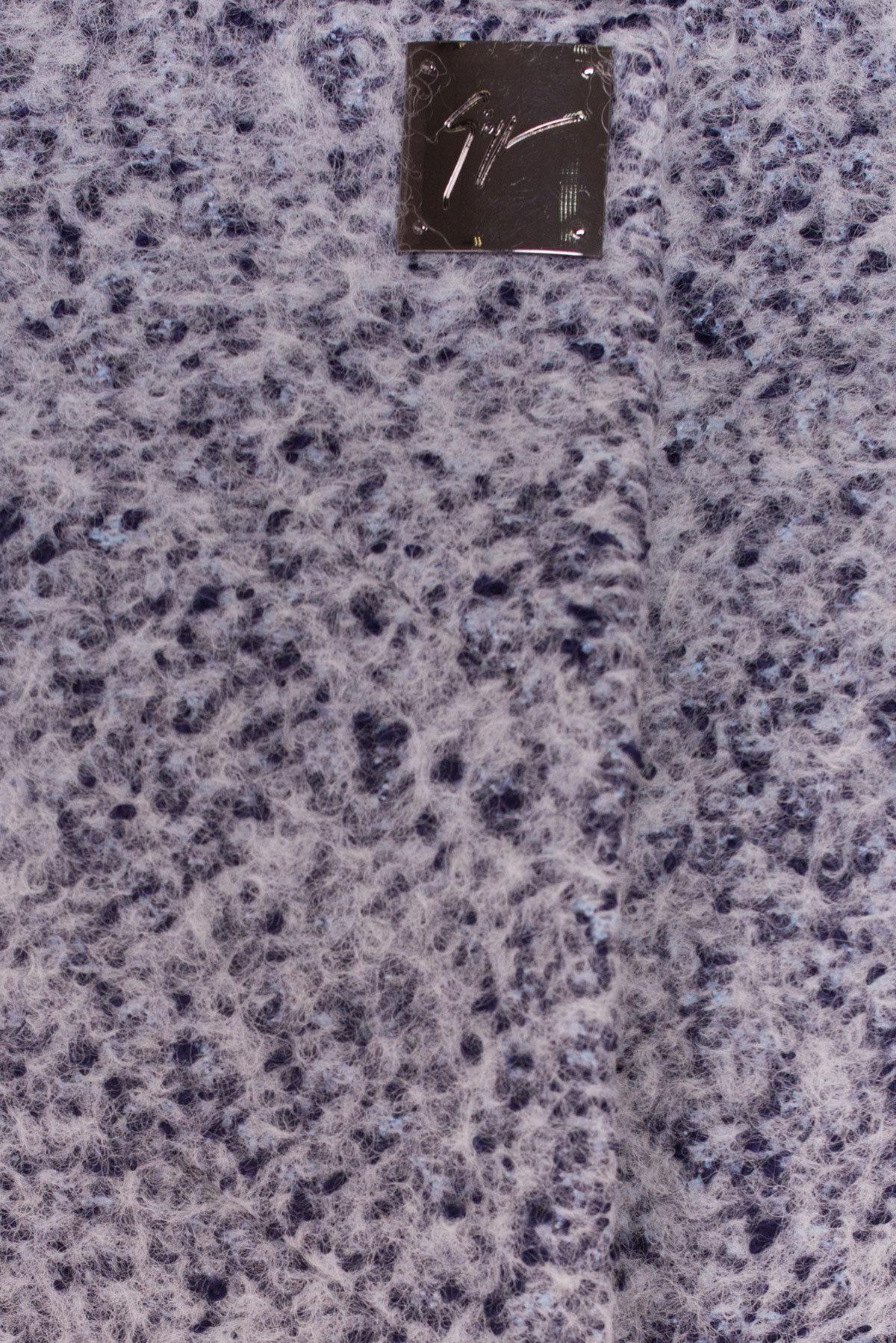 Пальто Фортуна 0904 АРТ. 8181 Цвет: Серый/голубой - фото 5, интернет магазин tm-modus.ru