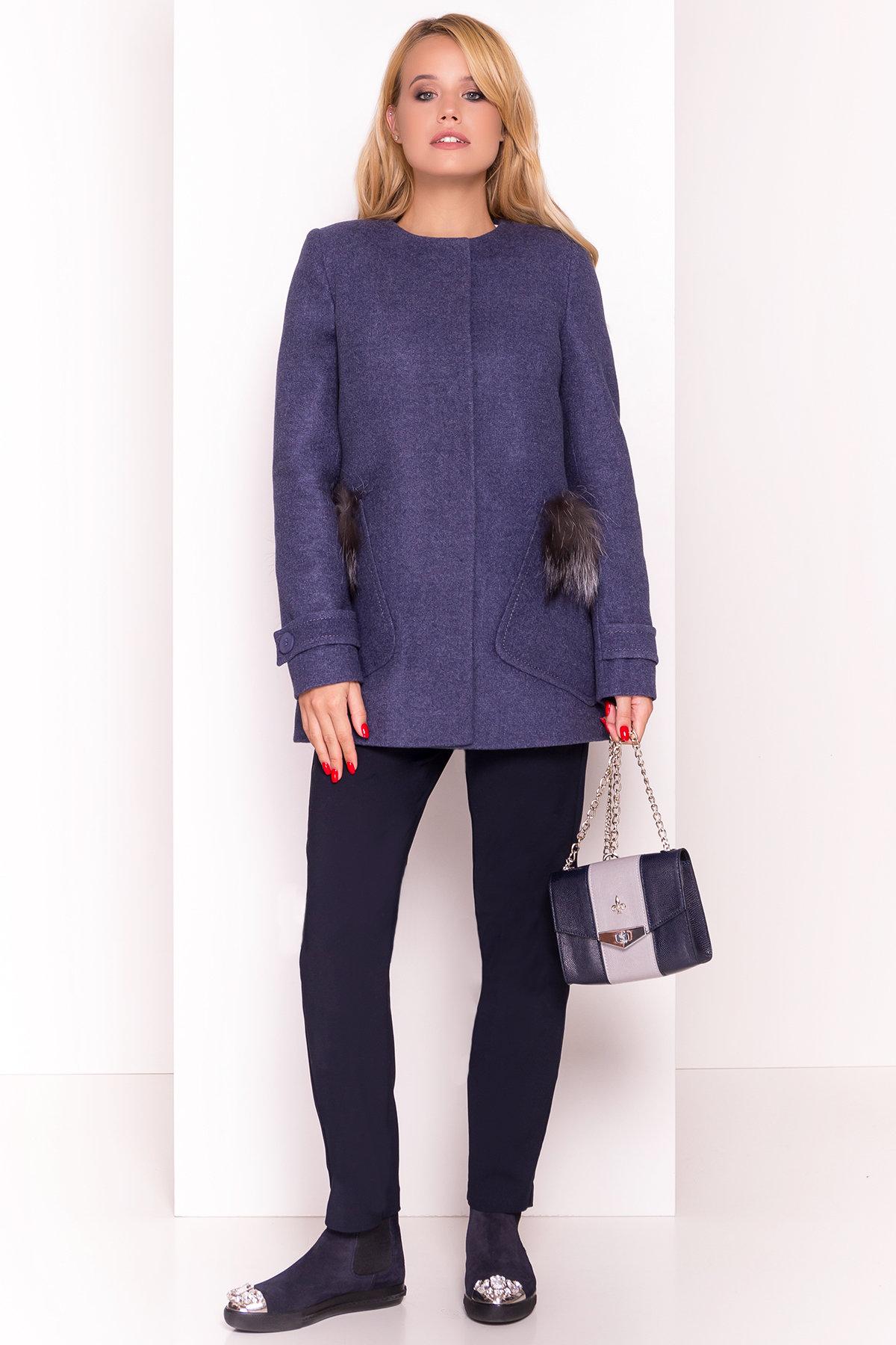 Женские пальто в интернет магазине TM Modus Демисезонное пальто трапеция в расцветках Латте 5429