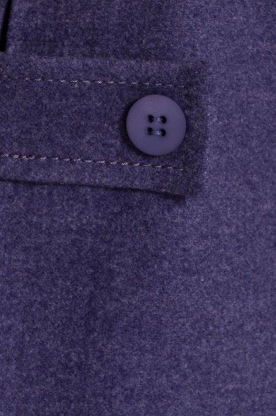 Демисезонное пальто трапеция в расцветках Латте 5429 Цвет: Джинс