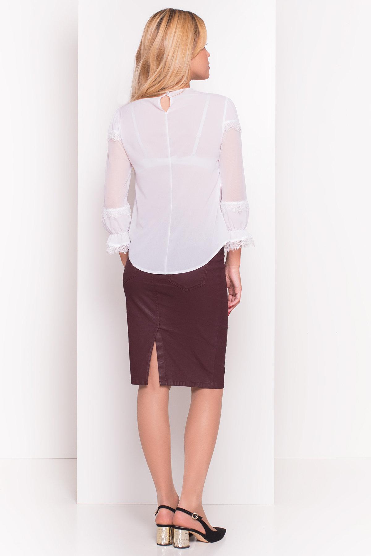 Блуза с рукавом 3/4 Венга 5143 Цвет: Белый 1