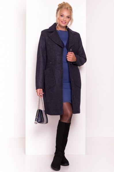 Пальто Габриэлла Donna 4426 Цвет: Темно-синий