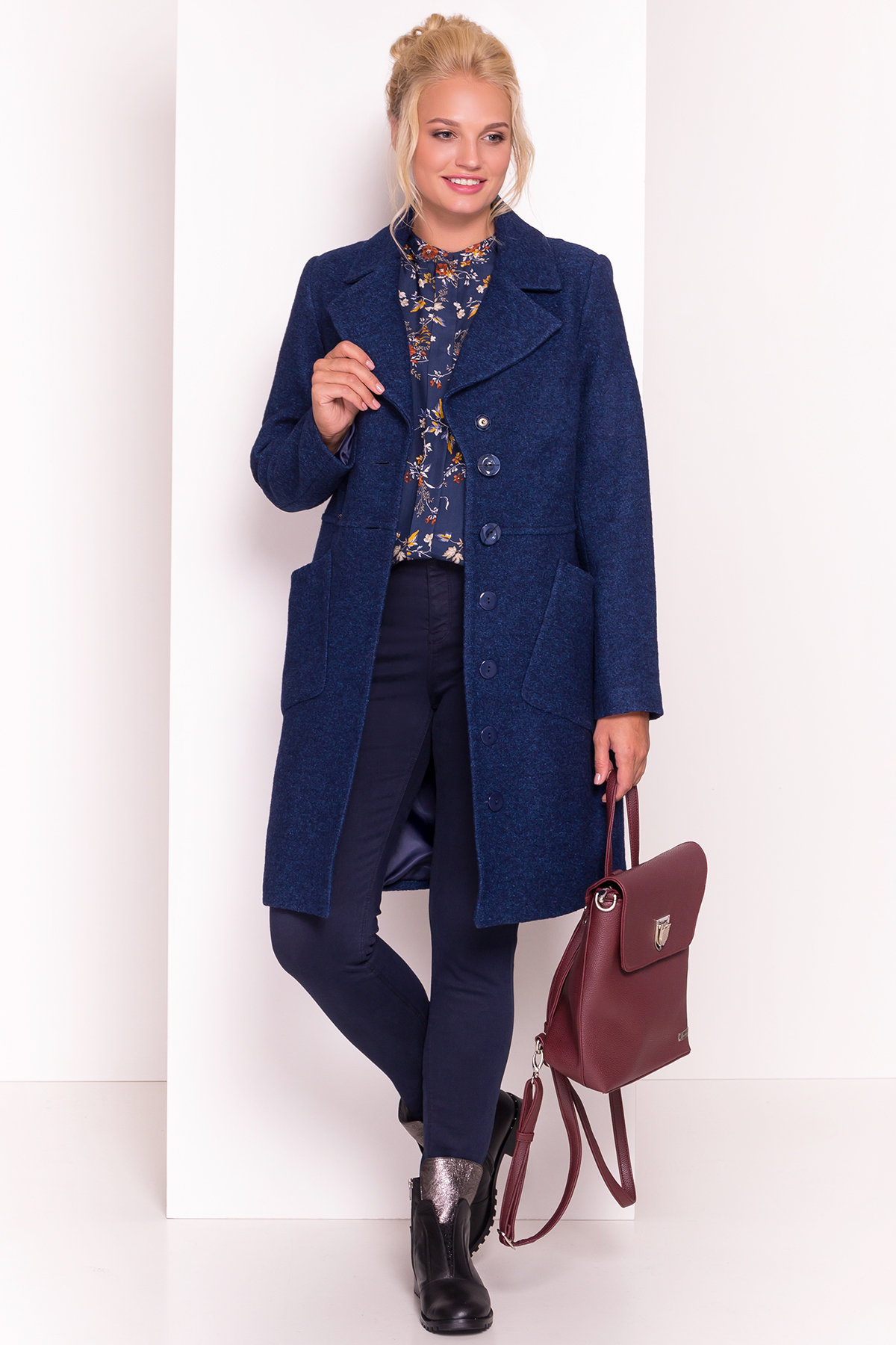 Купити пальто великих розмірів