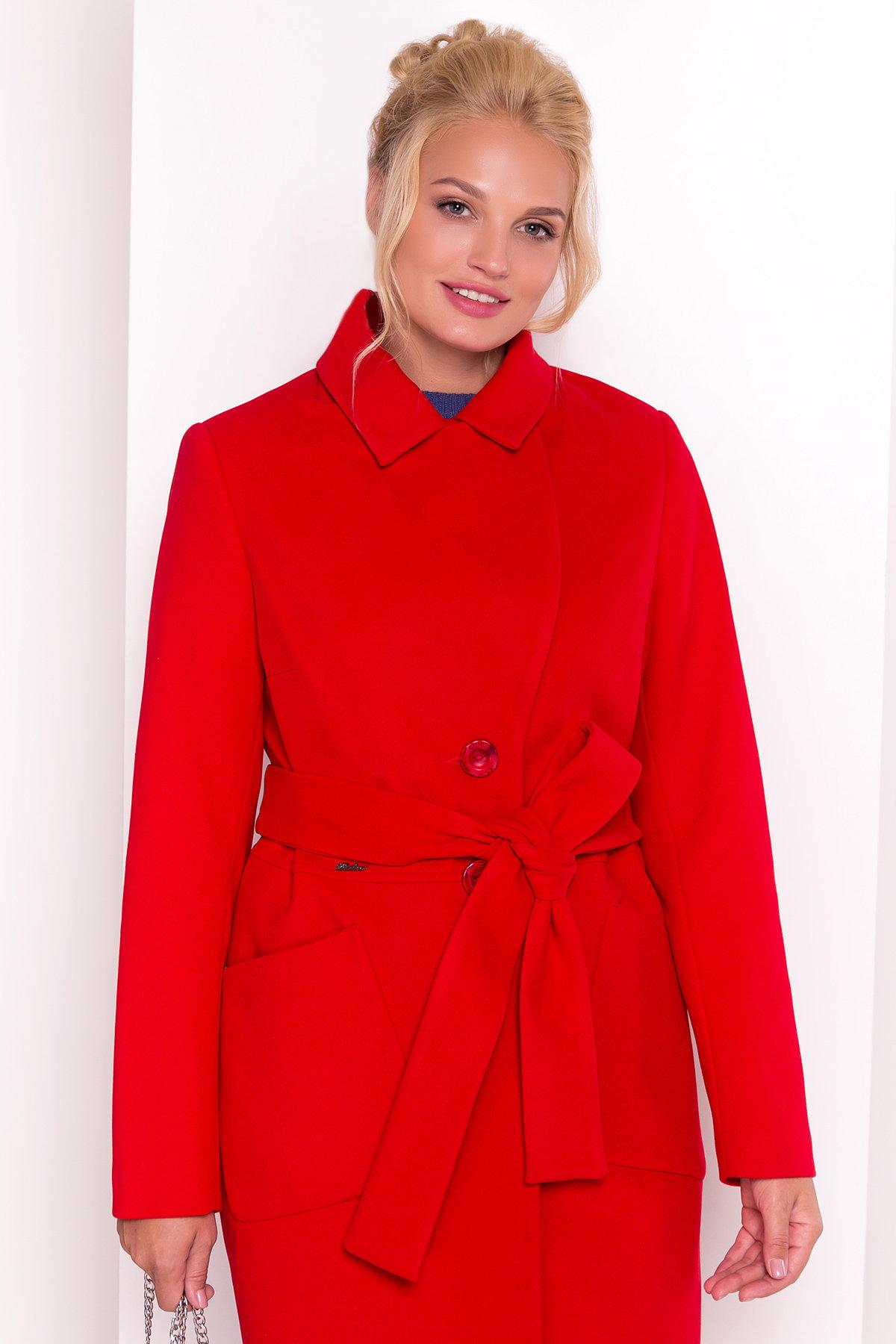 Пальто Габриэлла Donna 4553 Цвет: Красный 164510