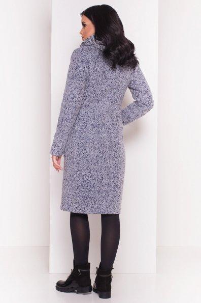 Пальто Габриэлла 4153 Цвет: Серый/голубой