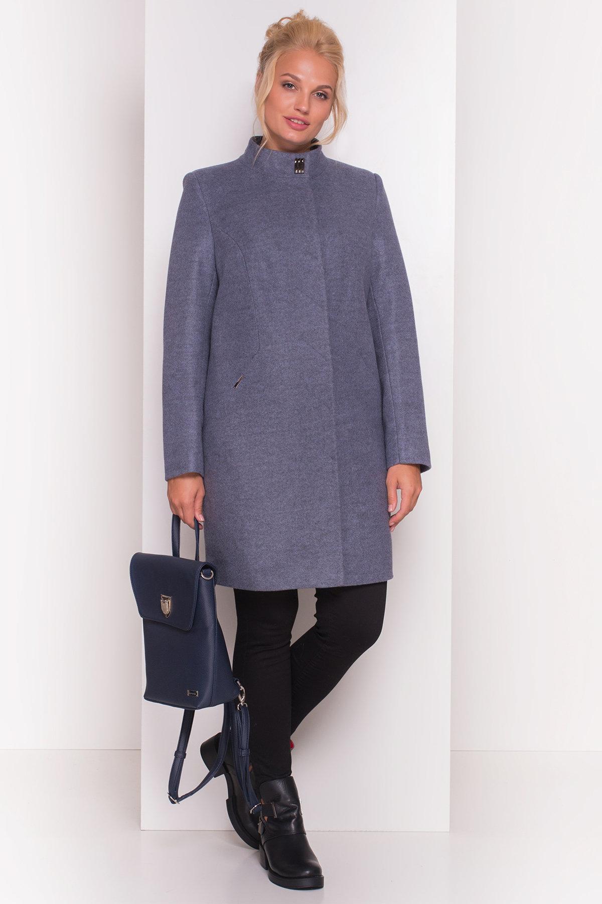 Пальто Сплит DONNA 4466 АРТ. 21353 Цвет: Серый 3 - фото 2, интернет магазин tm-modus.ru