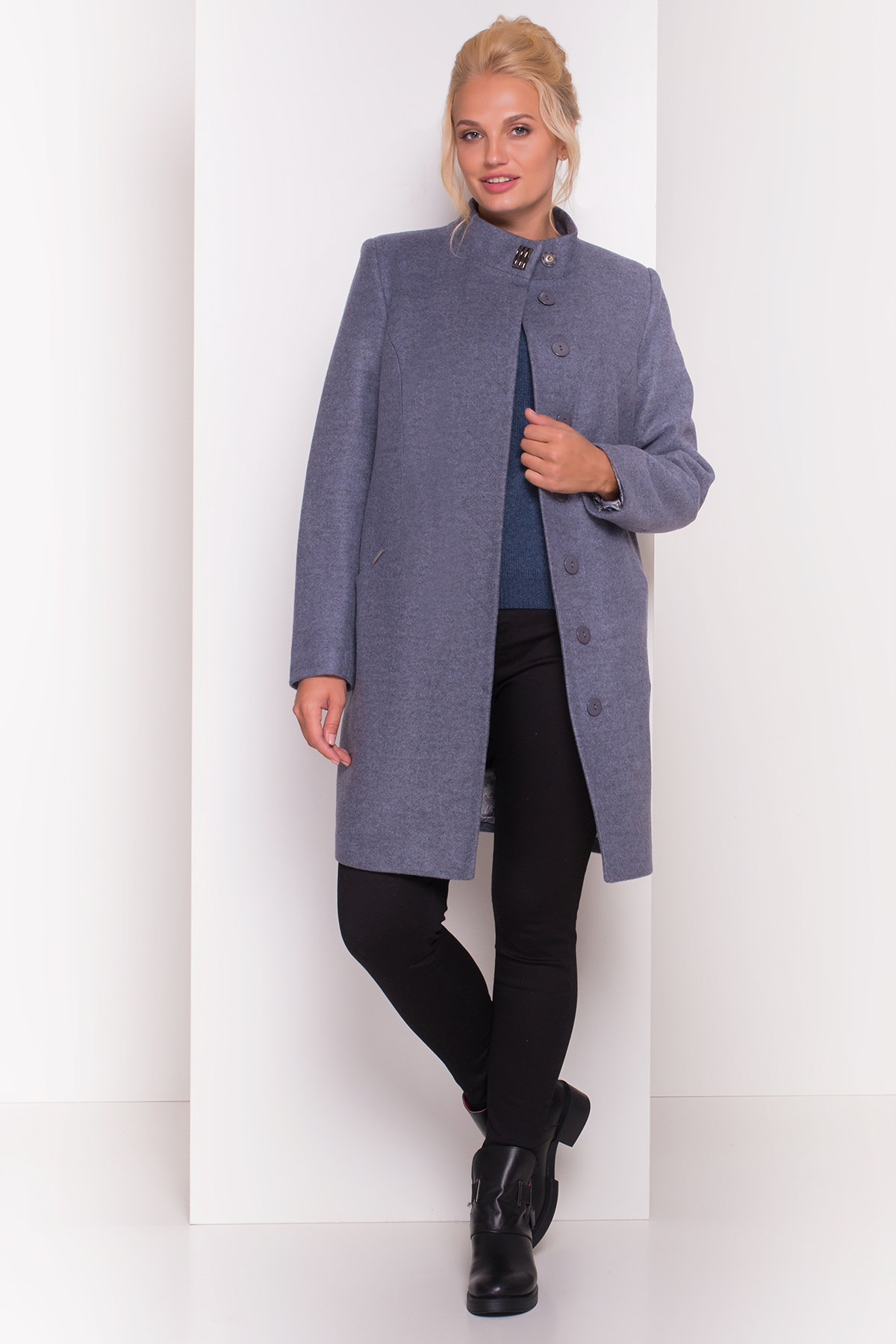 Пальто стеганное демисезонное женское цена от Modus Пальто Сплит DONNA 4466