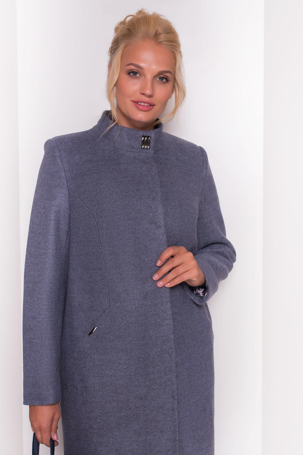 Пальто Сплит DONNA 4466 АРТ. 21353 Цвет: Серый 3 - фото 3, интернет магазин tm-modus.ru