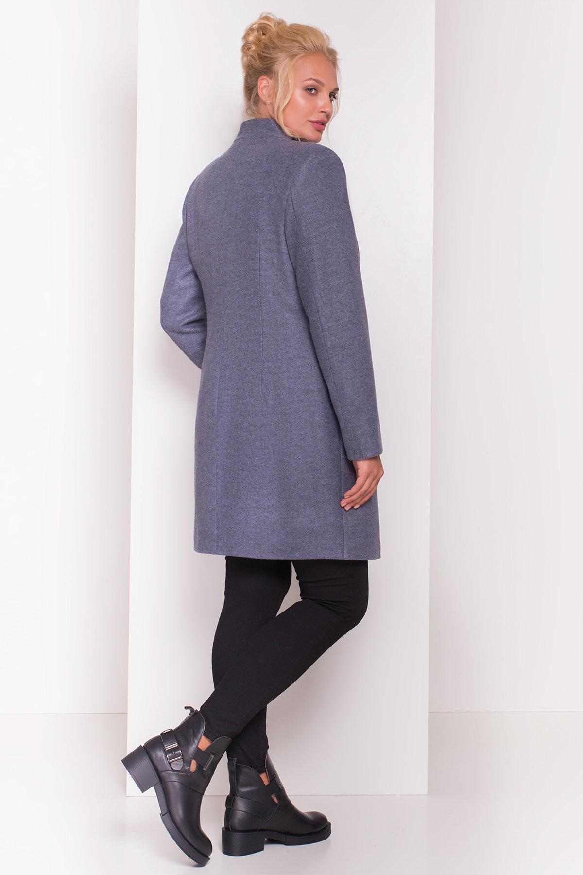 Пальто Сплит DONNA 4466 АРТ. 21353 Цвет: Серый 3 - фото 4, интернет магазин tm-modus.ru