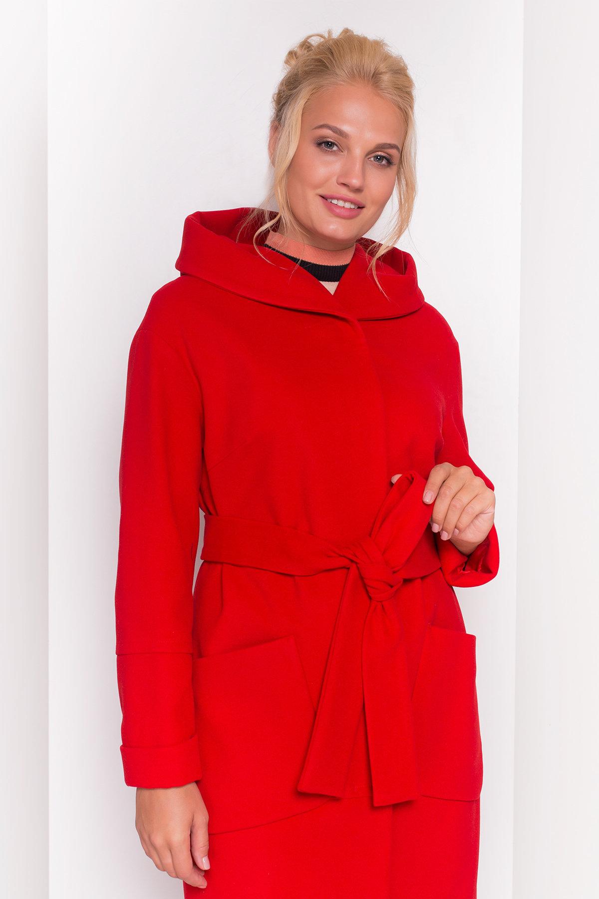 Пальто Анита DONNA 4421 Цвет: Красный 164510