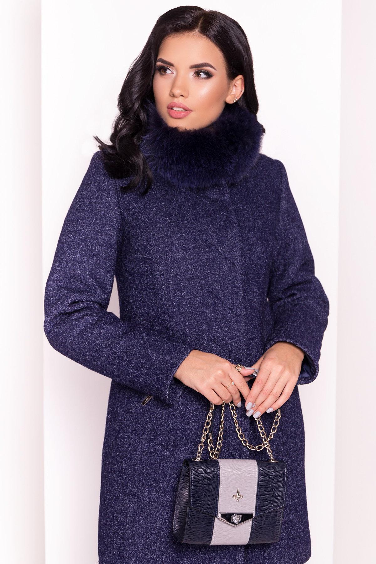Пальто зима Сплит 3359 АРТ. 18862 Цвет: Темно-синий - фото 3, интернет магазин tm-modus.ru